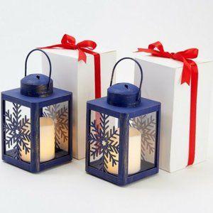 Candle Impressions Set of (2) Lanterns